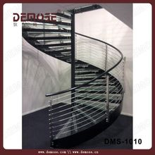 indoor polished cast iron spiral stairs for sale china demose