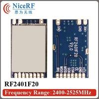 FCC approval! RF2401F20 - 400m 20dBm 2.4GHz wireless module nrf24l01 2.4g rf module