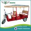 2015 Chinese CIRT Certificate bajaj auto e rickshaw supplier