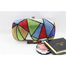 Triangle indian beaded party bags for women