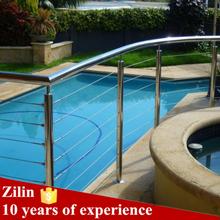 Foshan Veranda 4mm cable railing for outside/Foshan Hereditary balcony tension wire railing
