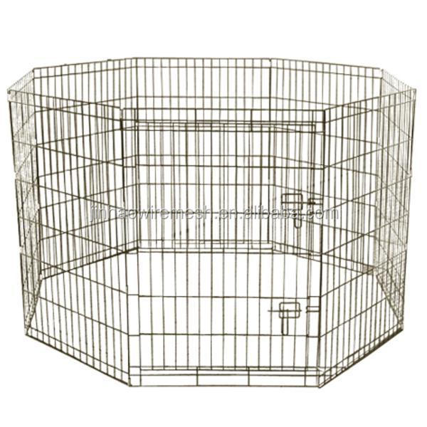Portable 24X24 Pet Dog Exercise Playpen Pen Cage Fence