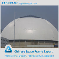 dome steel space frame construction building