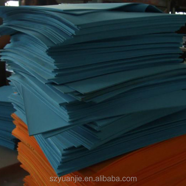 Good quality recycled high density eva foam sheet with various colors and sizes