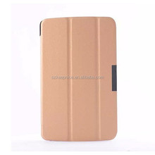 rotation plastic leather case for LG V400