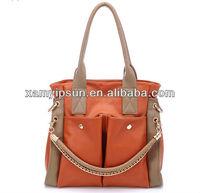 2013 New design fashion lady tote hand bag