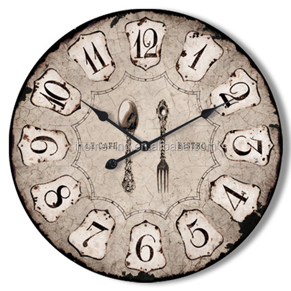 Arts and crafts old style wood crafts wall clocks mdf for Arts and crafts style wall clock