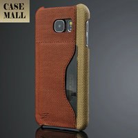 Factory Price bulk cell phone case for samsung galaxy s6 with card holder on back cover