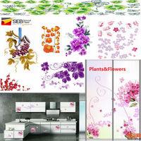 175GSM water slide transfer decals decorative paper for kitchen /furniture /window/ glass/ doors