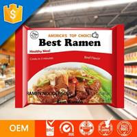 Ramen Noodles Manufacturer / Whole Wheat Noodles / OEM Is Welcomed