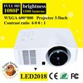 Android proyector full hd ready 1080 p, 1500 lúmenes con wifi, HDMI / TV / DVB