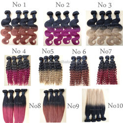 Wholesale Top Quality Unprocessed 100% professional hair color brand names