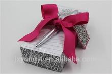 Eco- ambiente cubo de papel para regalo/presente