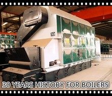 30 years history for gas fired hot water boilers steam boiler for sale
