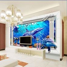 new product !3d sea world picture flooring tile background wall tiles,3d wall and floor tile,