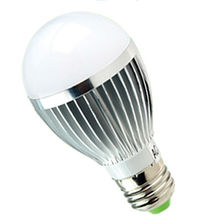 high power Epistar chip dimmable 5W E27 low heat no uv led light bulb