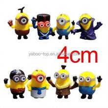 (Hot sale) Despicable Me Minions Figures, Custom Make Vinyl Action Figure Supplier, OEM PVC Action Figure Manufacturer