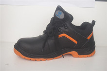 New Fashional Breathable Genuine Leather Steel Toe Safety Shoes With CE