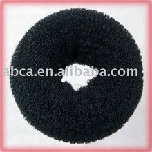 Bride Braided Hair Bun 15g-Black for wedding