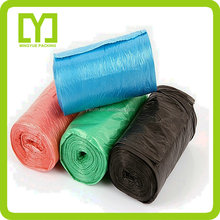 2015 YiWu Colorful high quality customized garbage bags used in hospitals