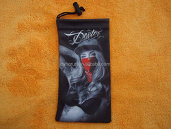 soft pouch use for sunglass jewelry or watch