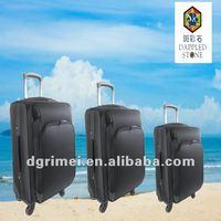 2015 Hot sale 4 spinner wheels EVA trolley luggage case
