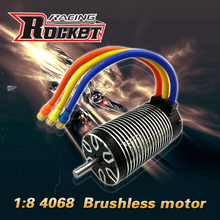 1:8 scale Rocket 4068 4 poles sensorless brushless motor