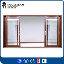 ROGENILAN exterior glass door aluminum profiles for veranda sliding door