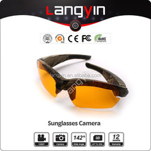 High Definition Video Camera Sunglasses Polarized Eye Glasses Video Recorder