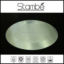 Professional Non Stick Pressed Pattern Triply Stainless Steel Circle Sheet for Cookware