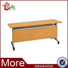 school furniture moving table for training class student folding table M230