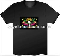 Equalizer Flashing Tee Shirt for Star's Concert