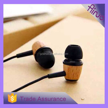 Wooden Fashion Design In-Ear Earphones