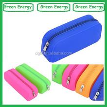 silicone cute cheap pencil case/fashion custom pencil case