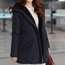 Hoodie coats long hooded warm coat womens hooded winter coat
