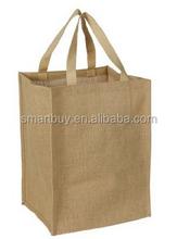 Eco-Friendly Reusable Large Natural Grocery Tote Jute/ Burlap Bag-Sale - Summer Tote Bags