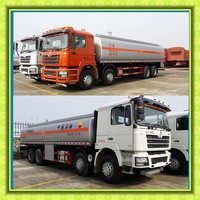 Hot Sale Low Price High Quality Shanqi Shacman 30ton Fuel delivery tank Truck 8x4 Refueling diesel oil truck 40000 liters