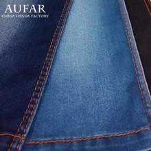 3541B136 china sale cotton polyester spandex denim fabric leather jacket
