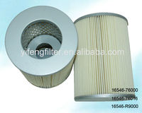 Air Filter 16546-76000 16546-76016 16546-R9000 for Nissan Caball, Caravan, Datsun Truck,, Vanette