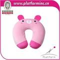 caliente de ventas de productos de la cabeza y soporte para el cuello de espuma de memoria almohada animal