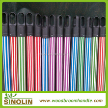 colorful pvc wooden brom pole with wholesale price
