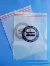Mini clear ziplock zipped lock reclosable bag poly double zipper bags