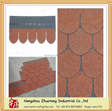 the cheapest red roofing asphalt shingle