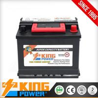CAR POWER BRAND 12V55AH Korean design car battery 55530MF