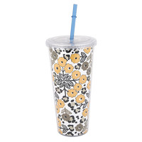 INTERWELL PPC41 Paper Inserted Double Wall Plastic Tumbler with lid