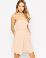 Sexy Poular Clothing Off Sholder Jumpsuit Pink for Ladies M6013