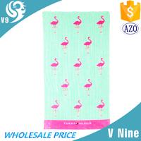 wholesale 100% cotton printed vibrant fabric custom cake towel