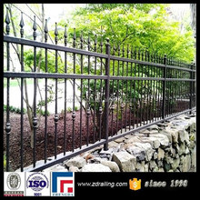 hot sale ornamental iron fence points, iron fence pickets,wrought iron fence cheap
