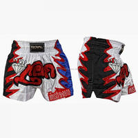 High Quality Professional Custom Design Satin Muay Thai Short