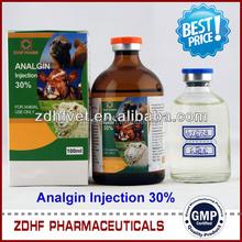 Live sheep medicine analgin injection Metamizole Sodium injection